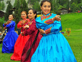 Buryat Dance Group — Stock Photo