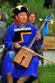 Buryat Dance Group — Stock Photo