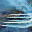 Breitling Air Show Sion - Stock Photo