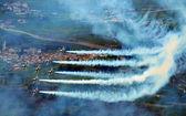 Breitling авиашоу сьон — Стоковое фото