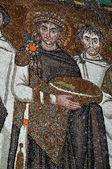 Emperor Justinian — Stock Photo