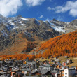 saas fee — Stock Photo