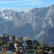 Stock Photo: Nendaz