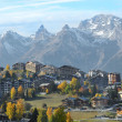 Nendaz in the Autumn — Stock Photo