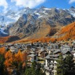 Saas Fee — Stock Photo #13620887