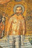 Doopsel van jezus — Stockfoto