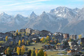 Nendaz in the Autumn — Foto de Stock
