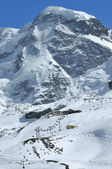 Summit of the Breithorn — Stock Photo