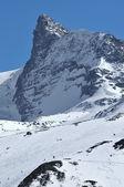 The kleiner Matterhorn — Stock Photo