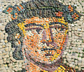 Ancient byzantine mosaic — Stock Photo
