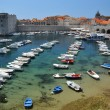 Foto Stock: Harbour at Dubrovnik