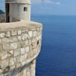 Fortified walls  Dubrovnik — Stock Photo #47734405