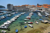 Harbour at Dubrovnik — Stock Photo