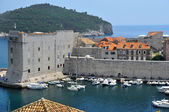 The harbour Dubrovnik — Stock Photo