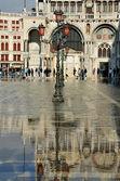 Venice Flooding — Stock Photo