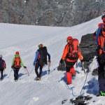 team van klimmers — Stockfoto #48444259