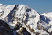 Liskamm next to Monte rosa — Stock Photo