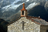 Chapel in the mountains — Stock Photo