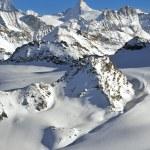 Swiss Alps Wilderness skiing — Stock Photo #48461167