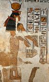 The goddess Hathor — Stock Photo