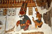 Egyptian Gods — Stock Photo