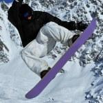 Snowboarder  freerider — Stock Photo #49871785