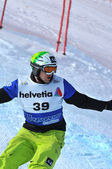 Snowboard champion — Стоковое фото