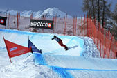 World Championship Snowboard — Stock Photo