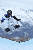 Snowboard cross world championships — Stock Photo