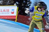 Snowboard krzyż mś 2010 — Zdjęcie stockowe