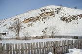 Snow hill — Stock Photo