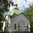 Chapel Gregory Pelshemskogo. Kadnikov city, VologdRegion, Russia. — Stock Photo #13887429