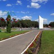 Revolution Square in the city of Vologda, Russia. — Stock Photo