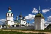 Kadnikov city, Vologda Region, Russia. Church of Elijah the Prophet, an architectural monument. 1710 — Stock Photo