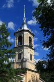 Monumento arquitectónico - iglesia de san juan bautista en roschene. 1710. vologda, rusia. — Foto de Stock