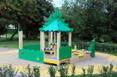 "Playground in ""Petrovsky Park"" Saint-Petersburg. Russia. — Stock Photo"