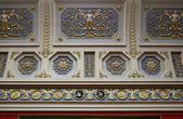 Fragment van het plafond in de hermitage. st. petersburg, rusland. — Stockfoto