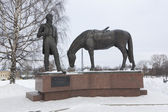 Monument Constantine Batyushkov in Vologda, Russia — Stock Photo