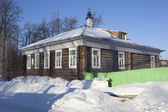 IA House Museum Kuskov researcher Alaska and Northern California. Totma, Vologda region, Russia — Stock Photo