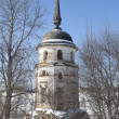 Southwestern Tower Savior Sumorin monastery. Tot'ma, Vologda Region, Russia - Stock Photo