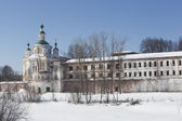 Holy Sumorin monastery and Church of the Assumption, Totma Vologda region, Russia — Stock Photo