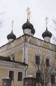 Temple of Saint Demetrius Prilutsk on Navolok Vologda, Russia — Stock Photo