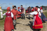 ロシアの踊り — ストック写真