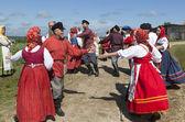 Ruský tanec — Stock fotografie