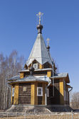 церковь святого сергия радонежского в вологодской области, россия — Стоковое фото