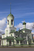 Church of St  Nicholas on Glinka in Vologda, Russia — Stock Photo