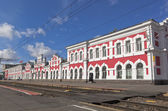 Train Station in Vologda, Russia — Stockfoto