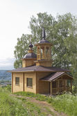 Chapel of Our Lady of the Assumption in a village — Stock Photo