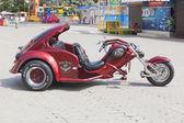 Three-wheeled motorcycle — Stock Photo