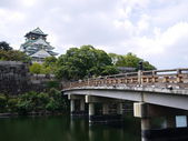Osaka jio castle — Stock Photo